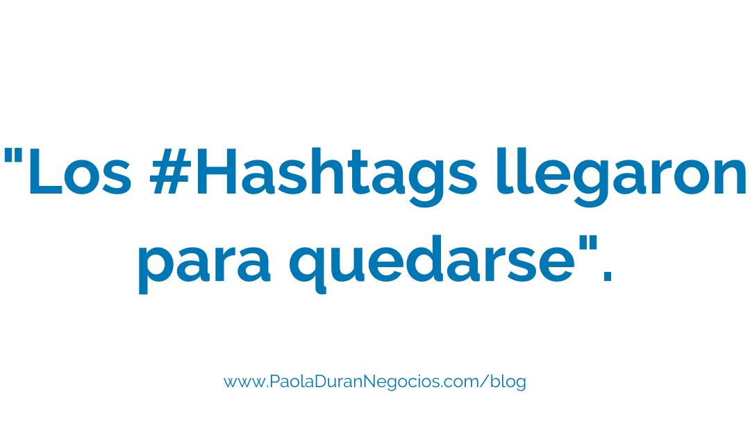 los hashtags en LinkedIn