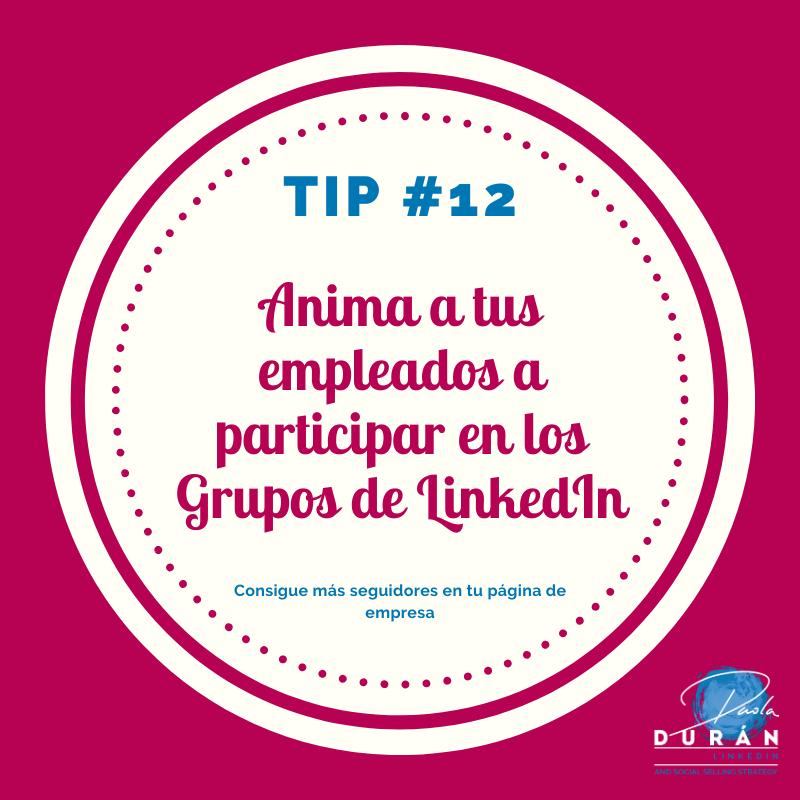 Anima a tus empleados a participar en LinkedIn-tips empresa LinkedIn