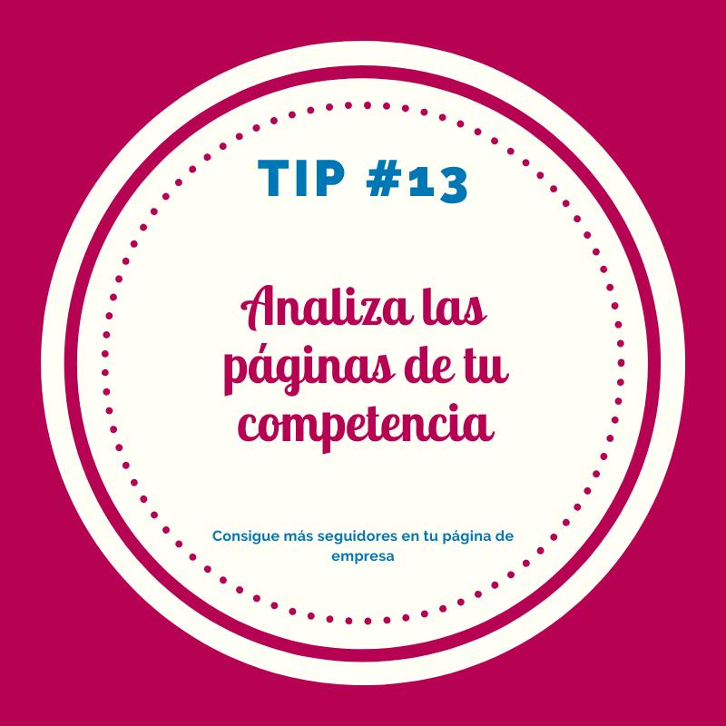 Analiza a tu competencia -tips empresa LinkedIn