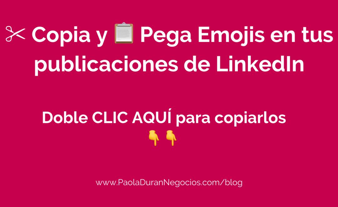 emojis para LinkedIn